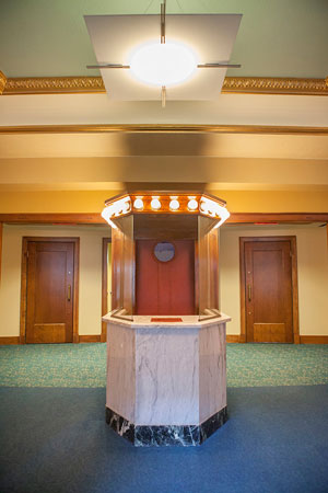 Refurbished Box Office at the Magical Theatre in Barberton, Ohio